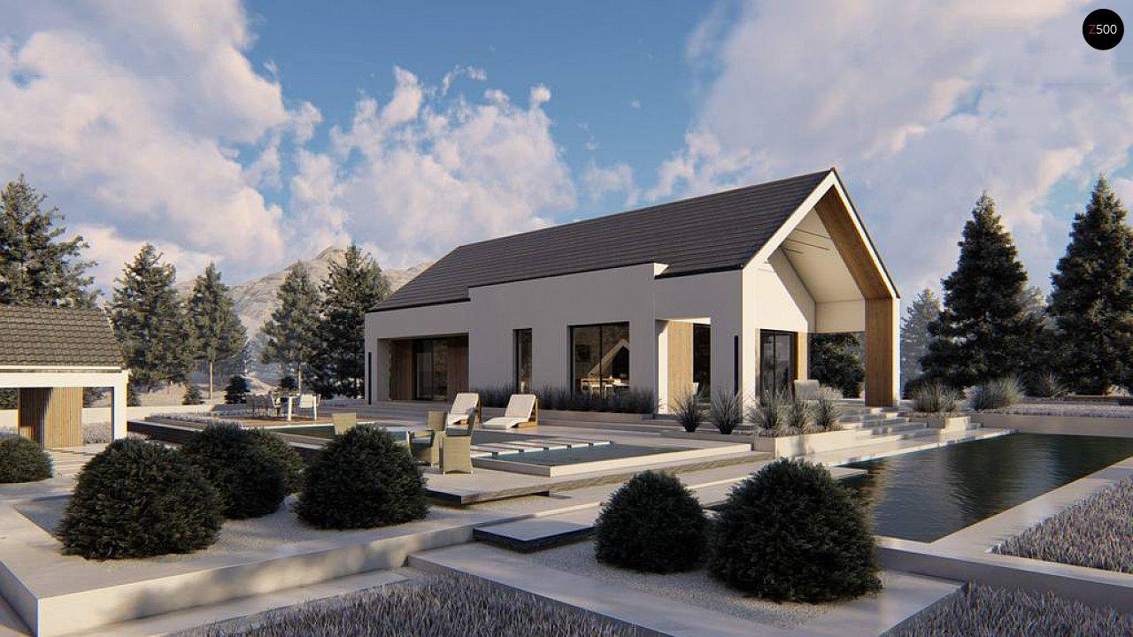 Проект будинку Z465 - 1
