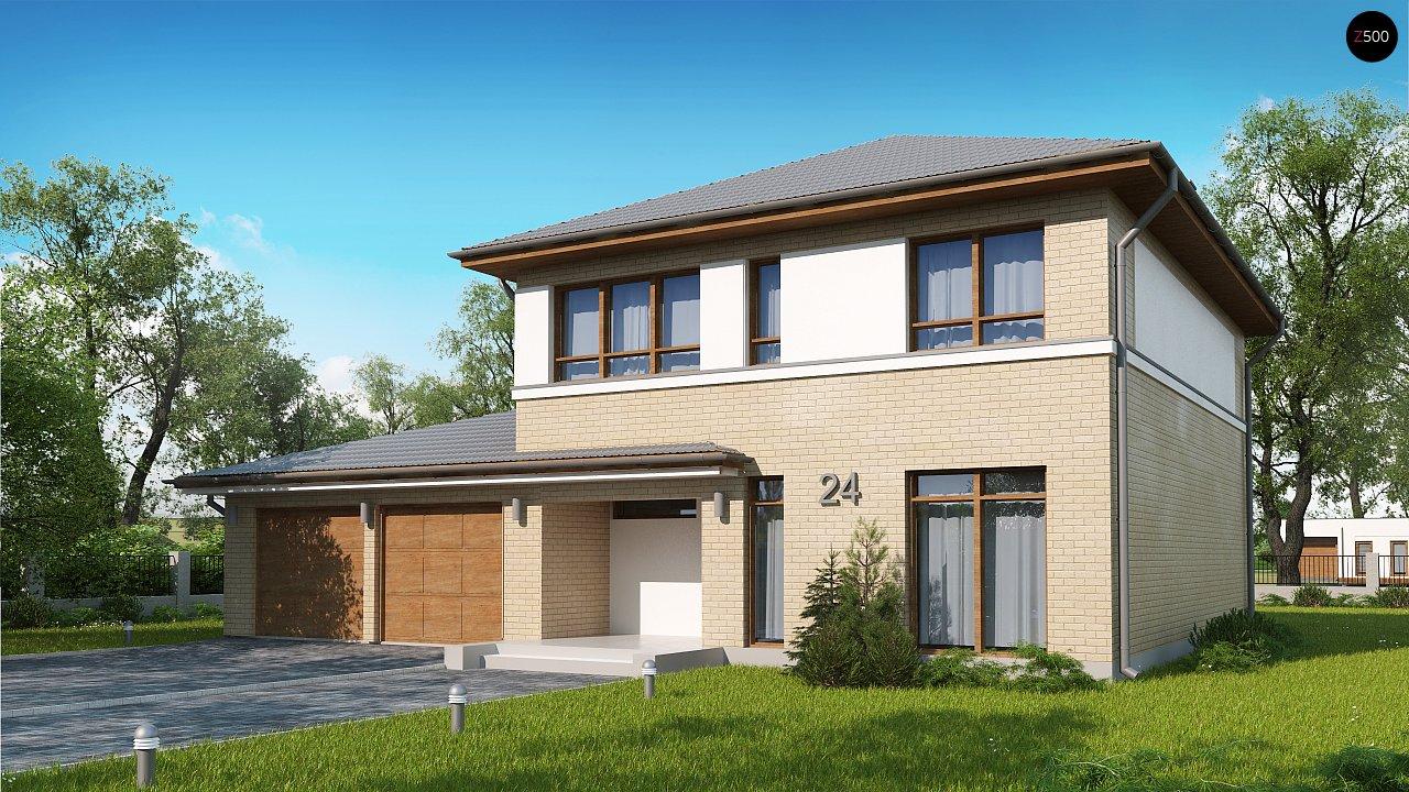 Проект будинку Zx24 GL2 - 1