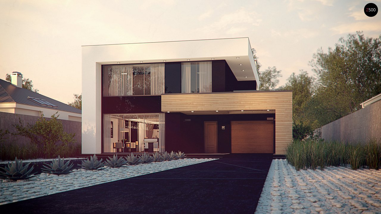 Проект будинку Zx123 - 1