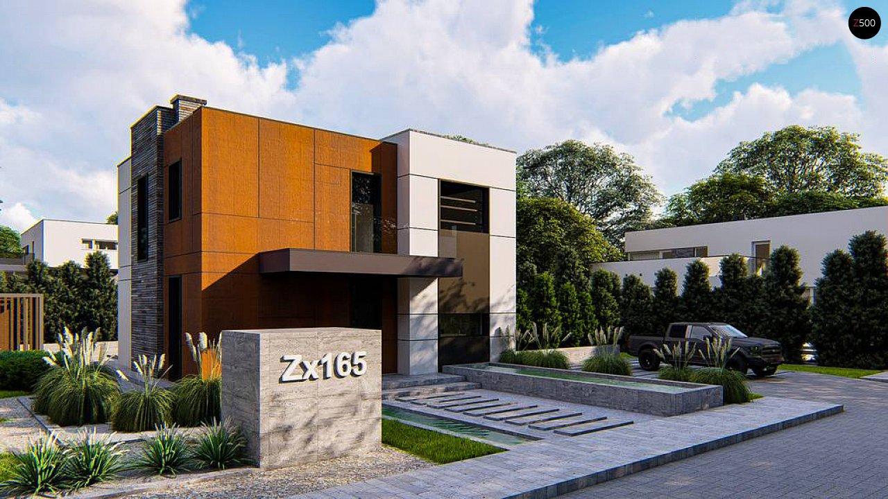 Проект будинку Zx165 - 1