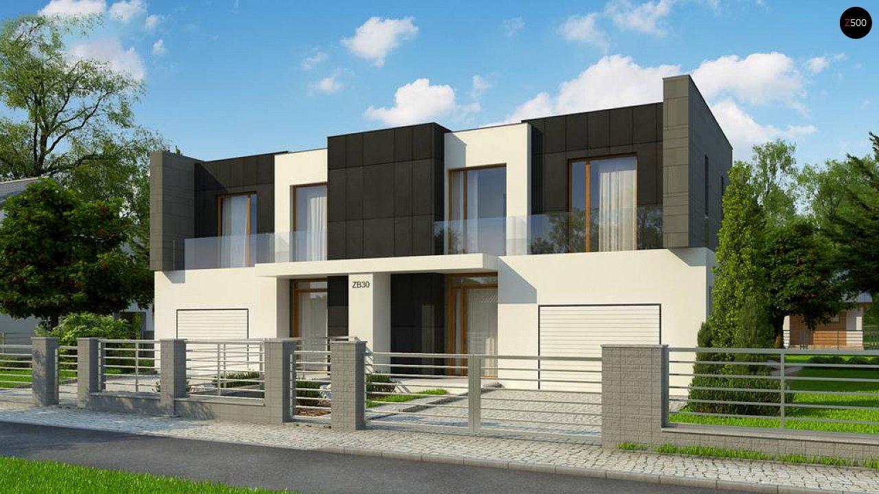 Проект будинку Zb30 - 1