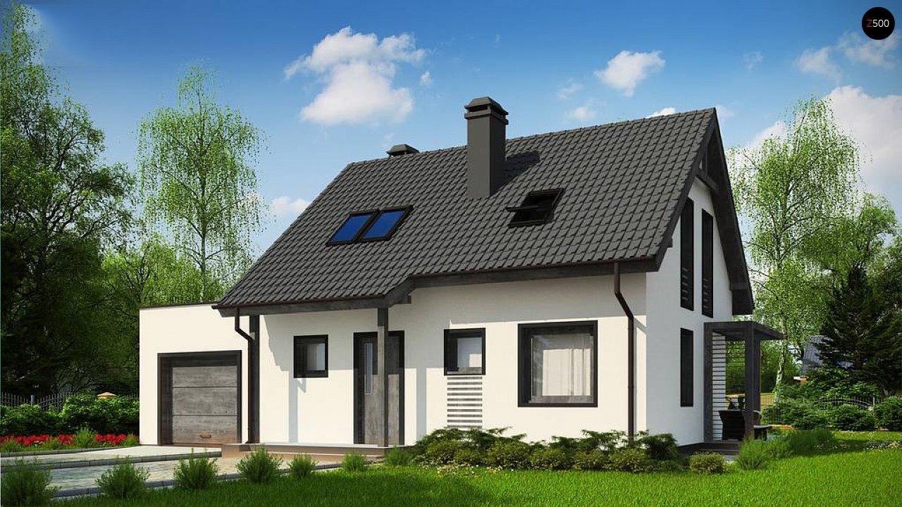 Проект будинку Z212 GL - 1