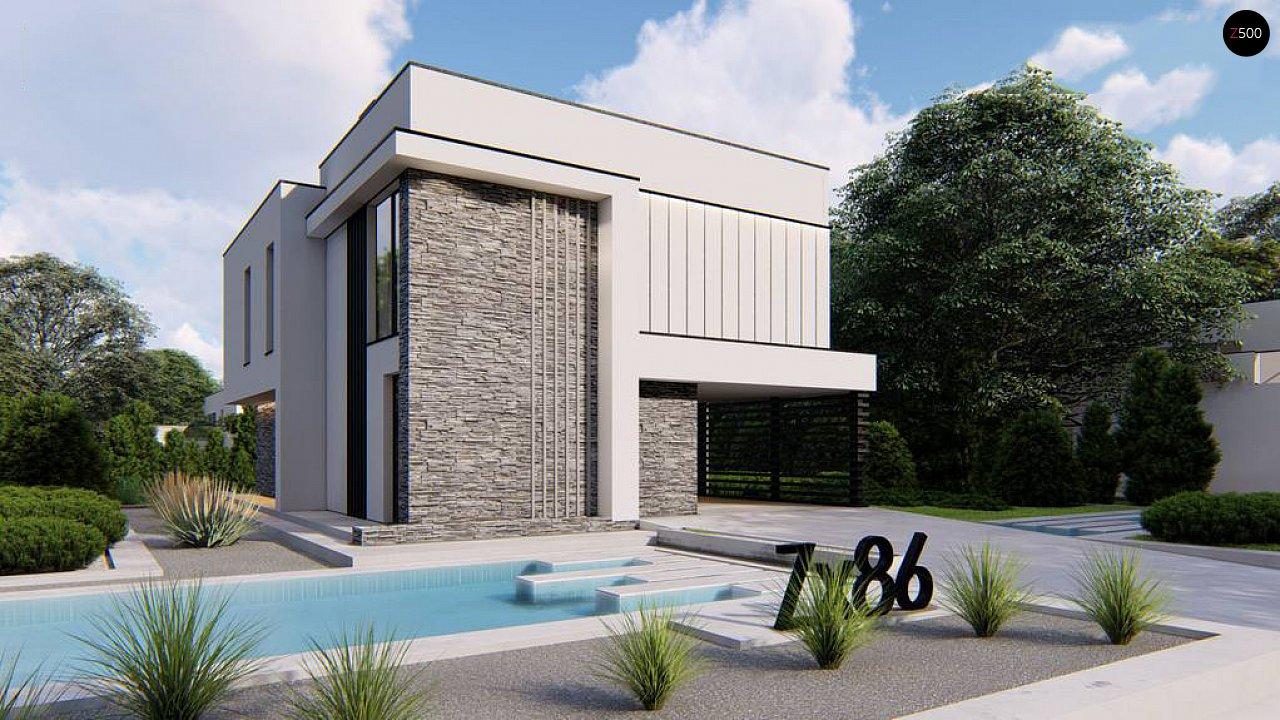 Проект будинку Zx86 - 1