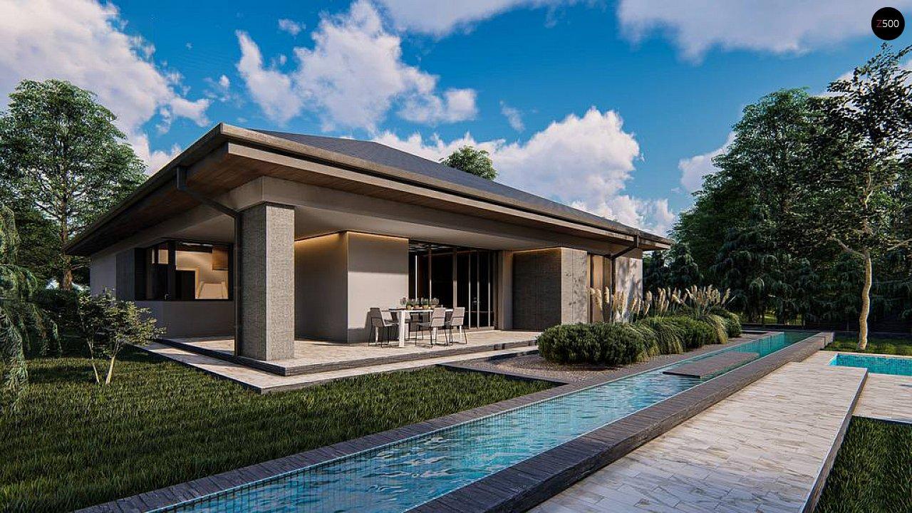 Проект будинку Z412 - 1