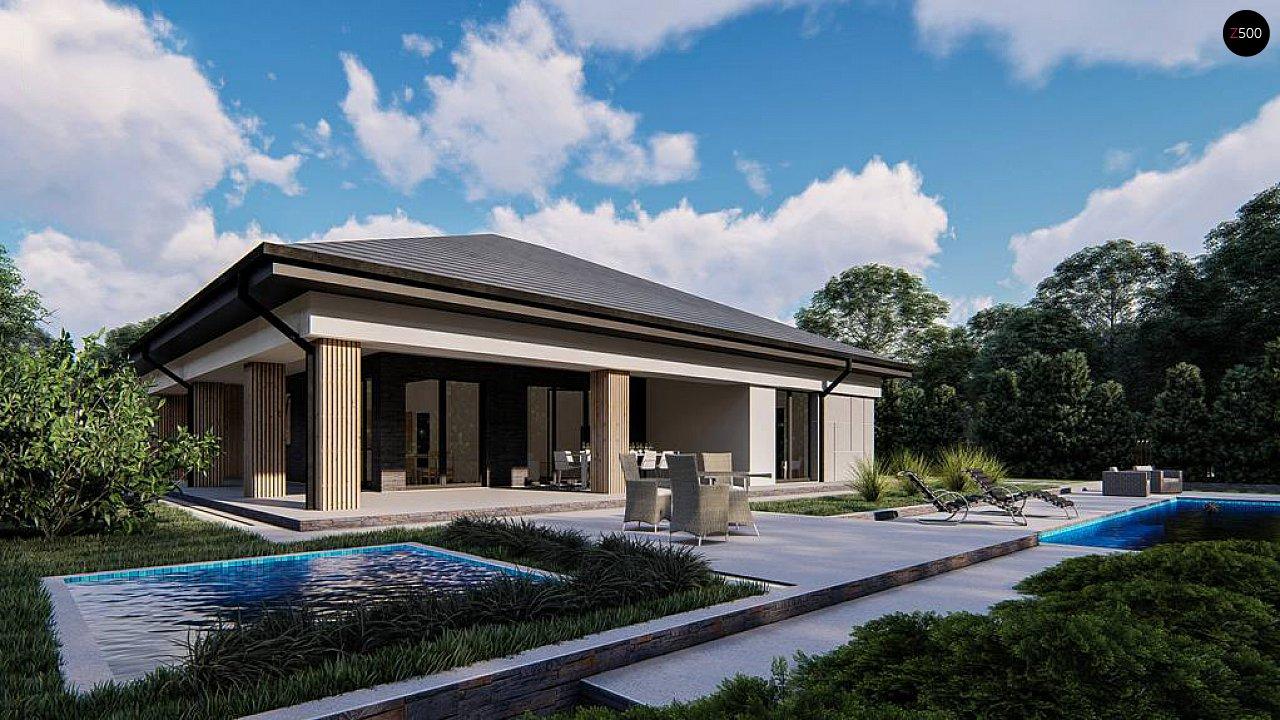 Проект будинку Z409 - 1