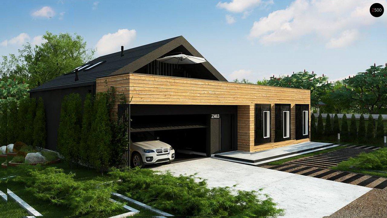 Проект будинку Z463 - 1