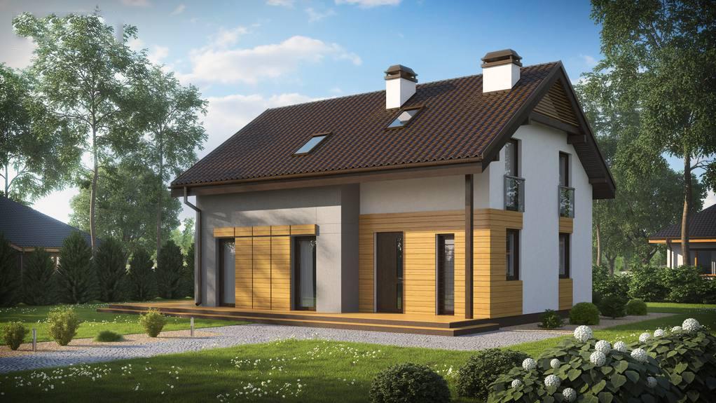 Проект будинку Z149 BG - 1