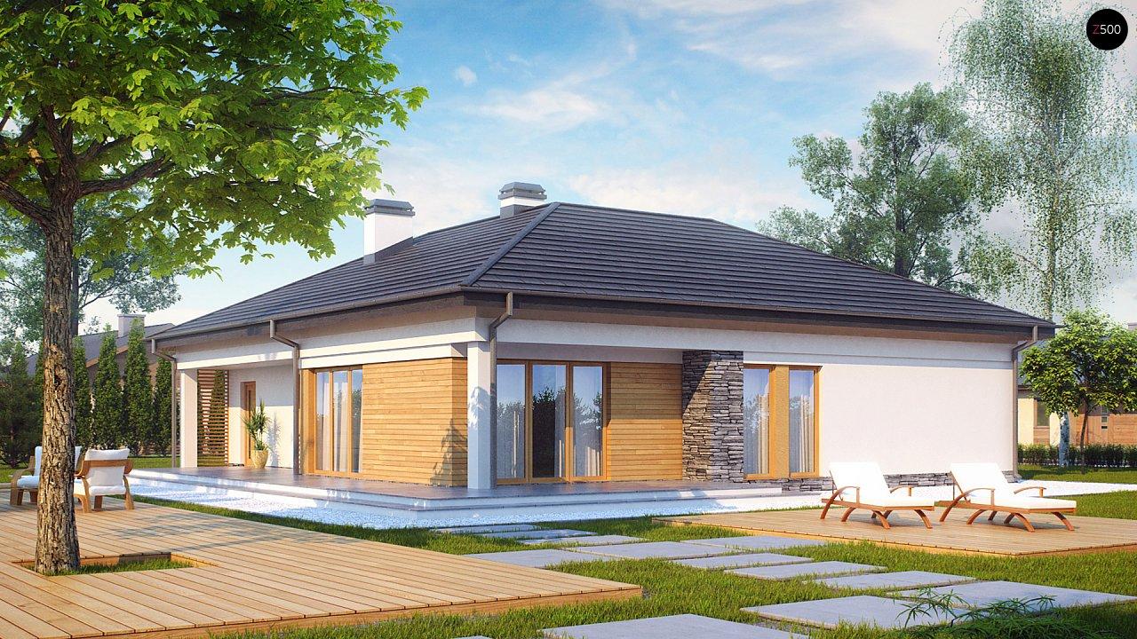 Проект будинку Z204 - 1