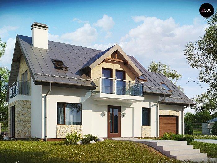 Проект будинку Z263 + - 1