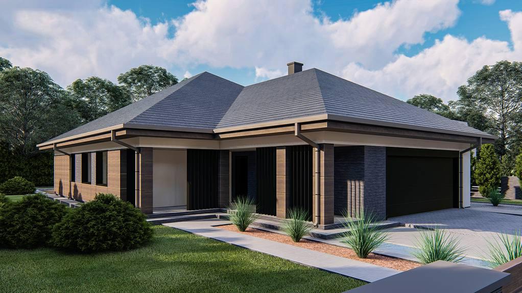 Проект будинку Z411 - 1