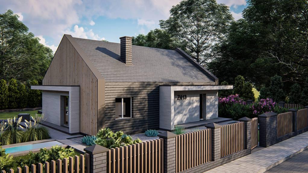 Проект будинку Z413 - 1