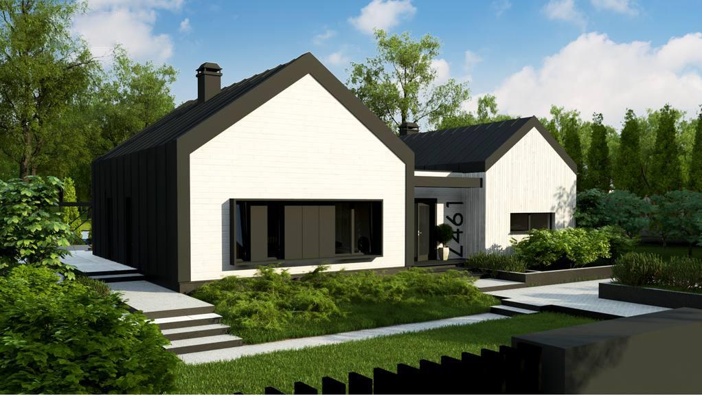 Проект будинку Z461 - 1