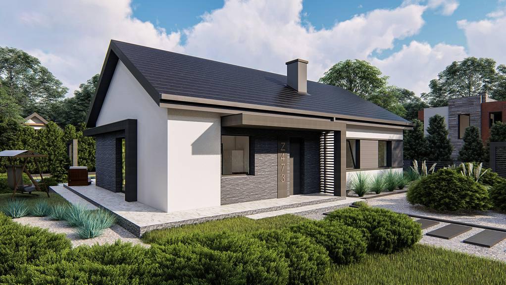Проект будинку Z473 - 1
