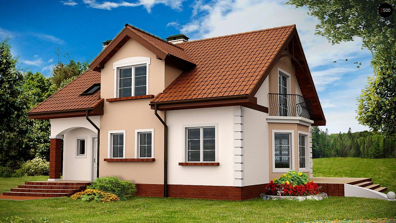 Проект будинку Z28 - 1