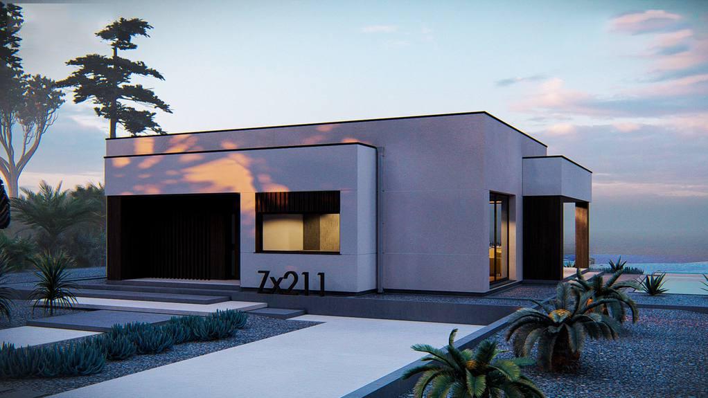 Проект будинку Zx211 - 1