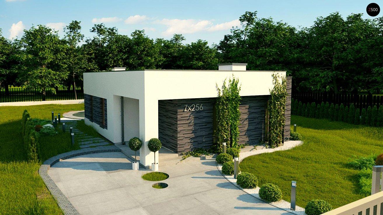 Проект будинку Zx256 - 1