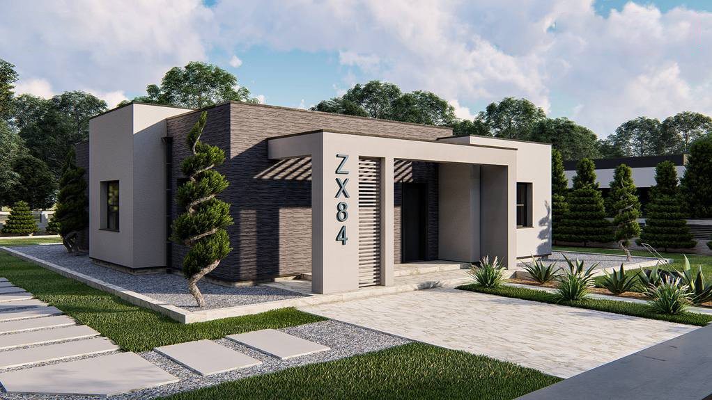 Проект будинку Zx84 - 1