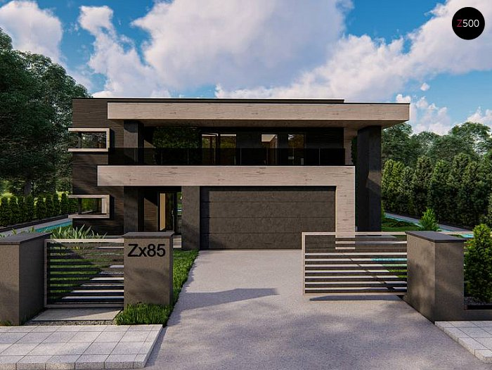 Проект будинку Zx85 - 1