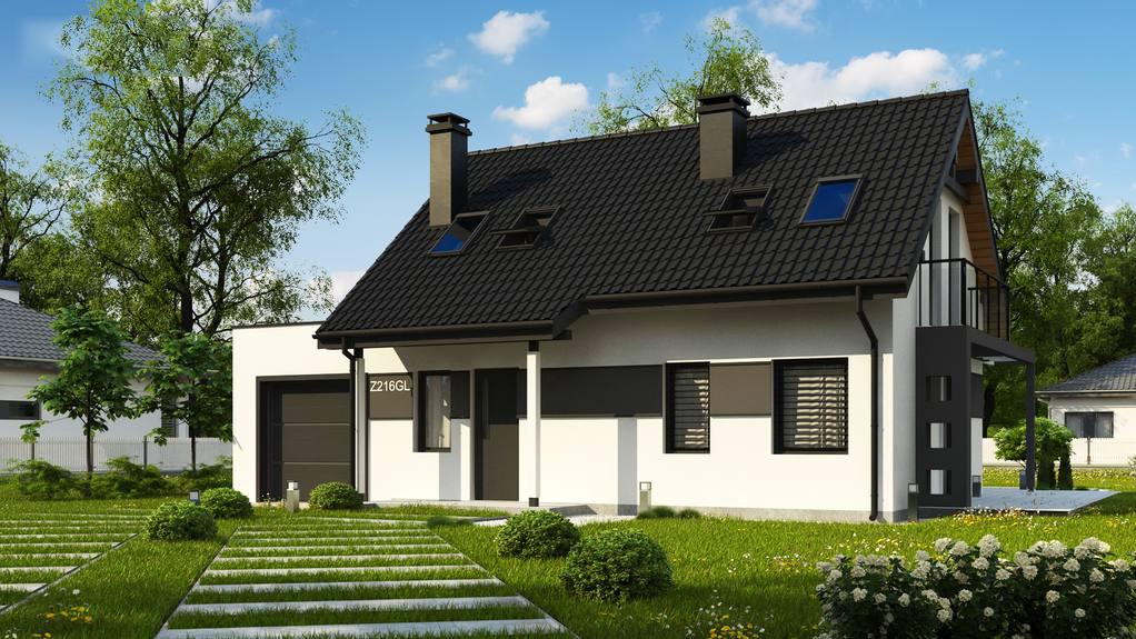Проект будинку Z216 GL - 1