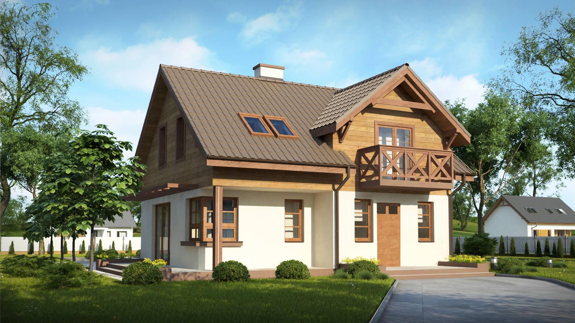 Проект будинку Z33 BG - 1