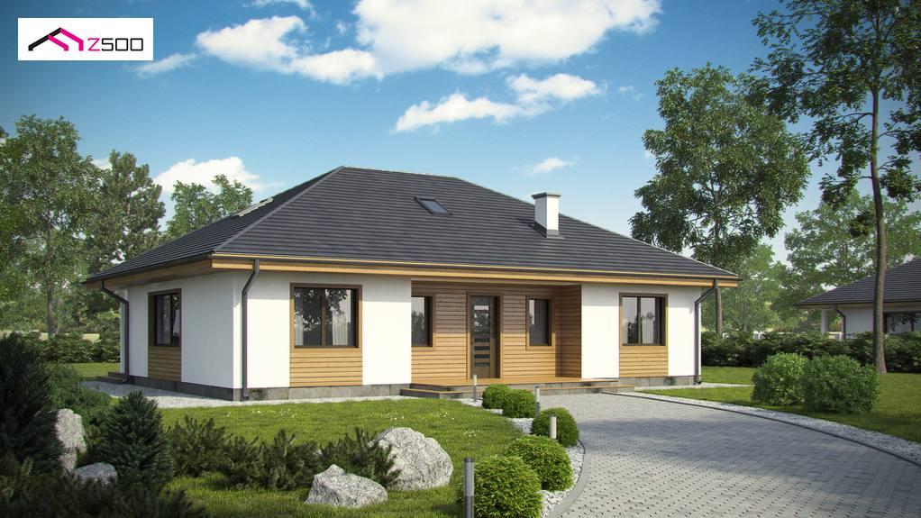 Проект будинку Z35 A BG - 1