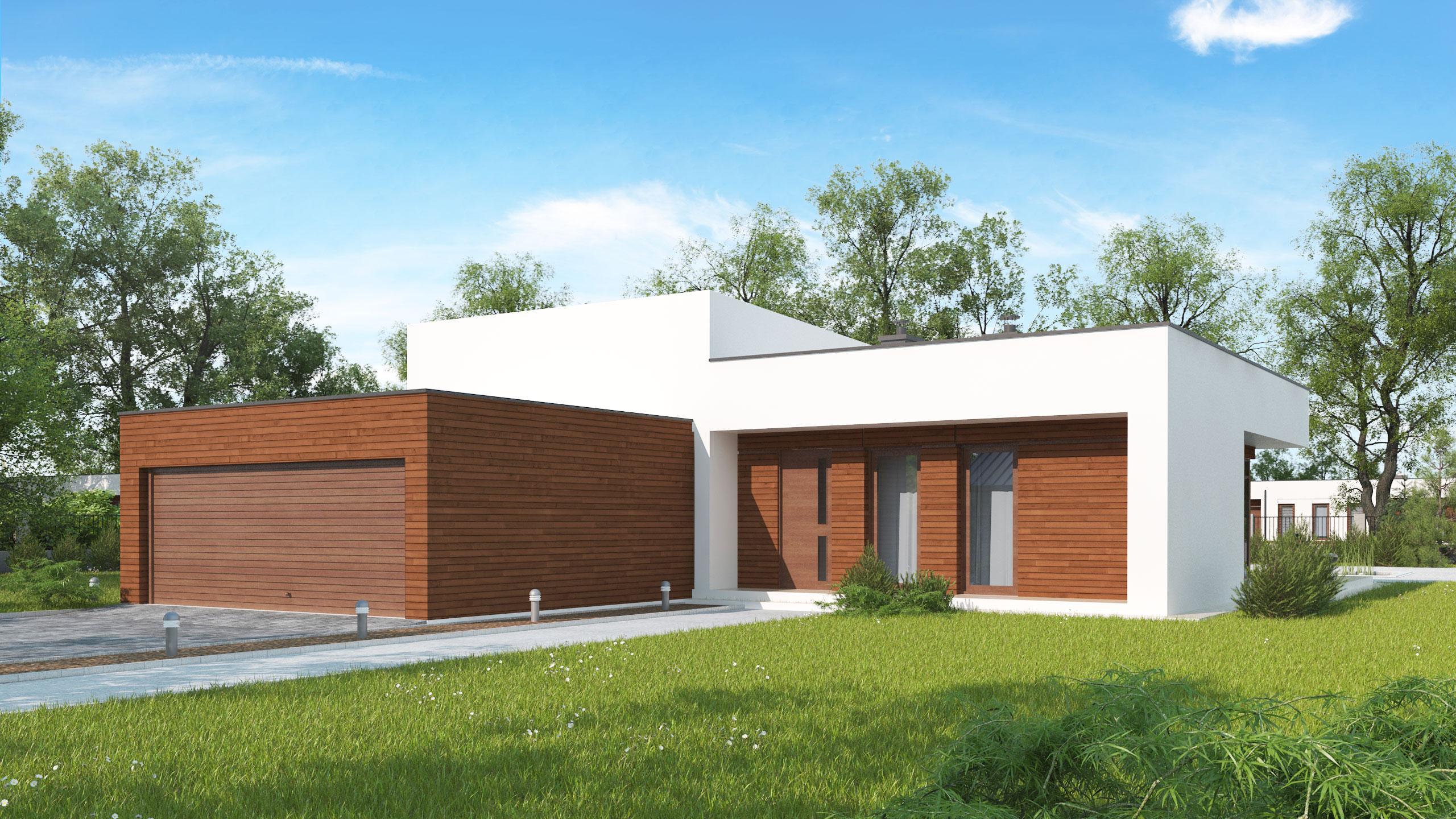 Проект будинку Zx35 GL2 v2 - 1