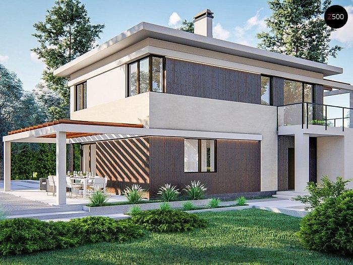 Проект будинку Zz63 B - 1