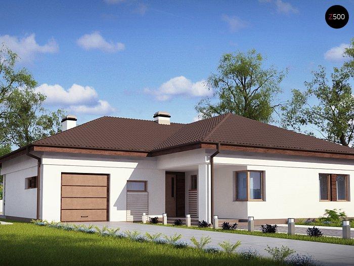 Проект будинку Z204 L v3 - 1