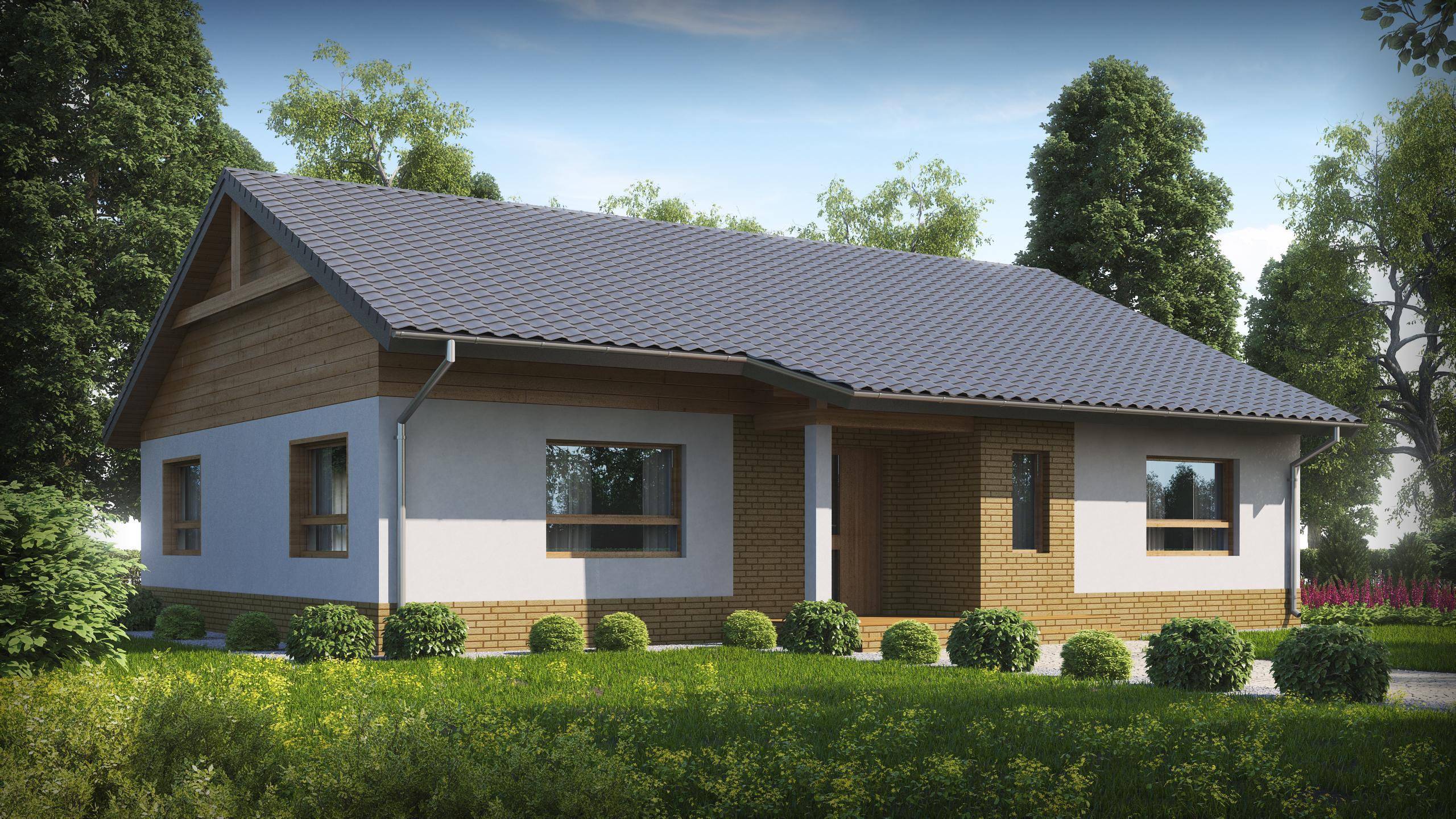 Проект будинку Z41+ - 1