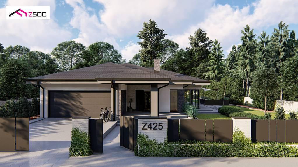 Проект будинку Z425 - 1