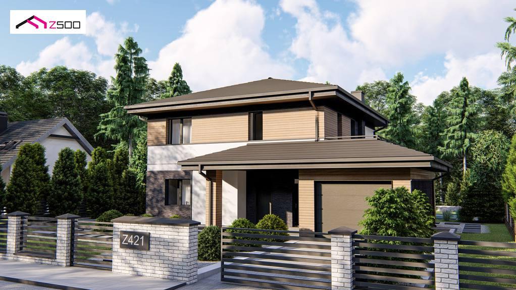 Проект будинку Z421 - 1