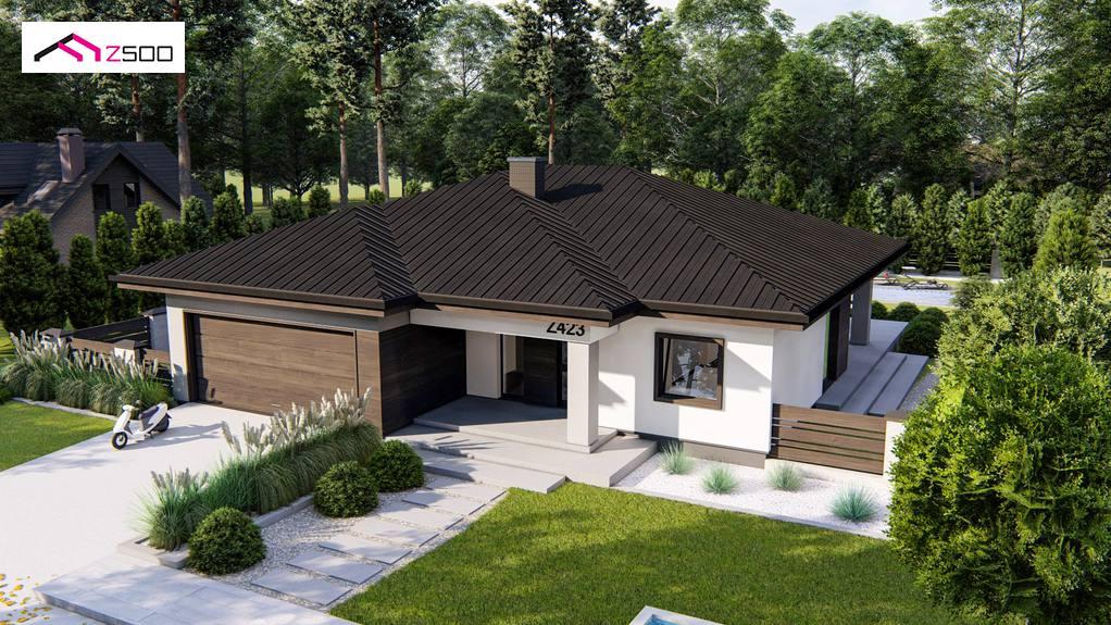 Проект будинку Z423 - 1