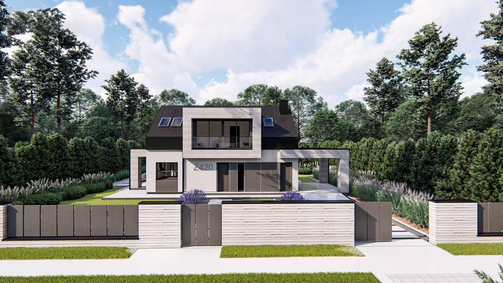 Проект будинку Z420 - 1