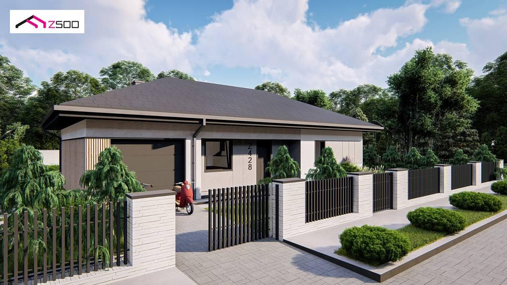 Проект будинку Z428 - 1
