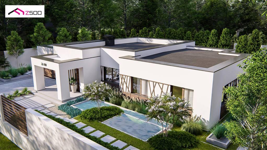 Проект будинку Zx169 - 1