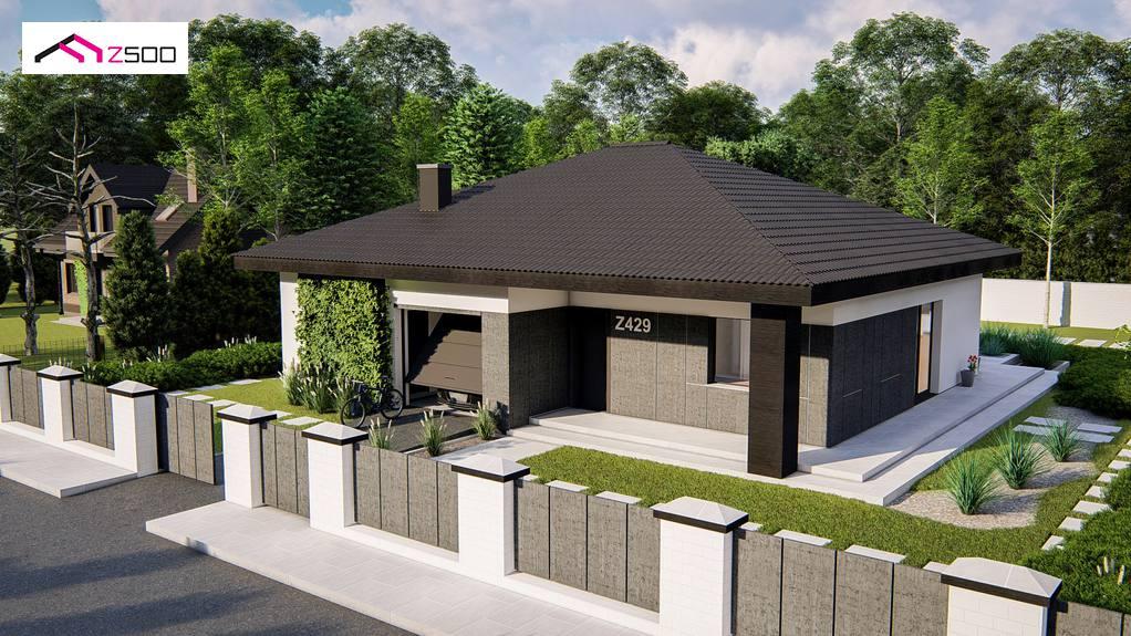 Проект дома Z429 - 1