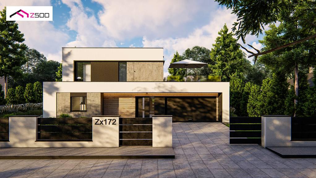 Проект будинку Zx172 - 1