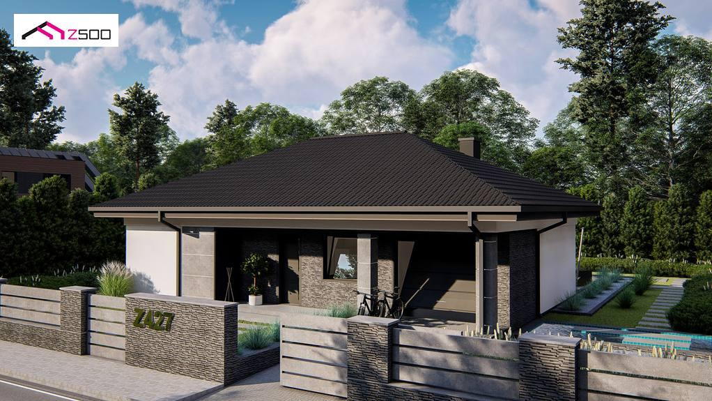 Проект будинку Z427 - 1