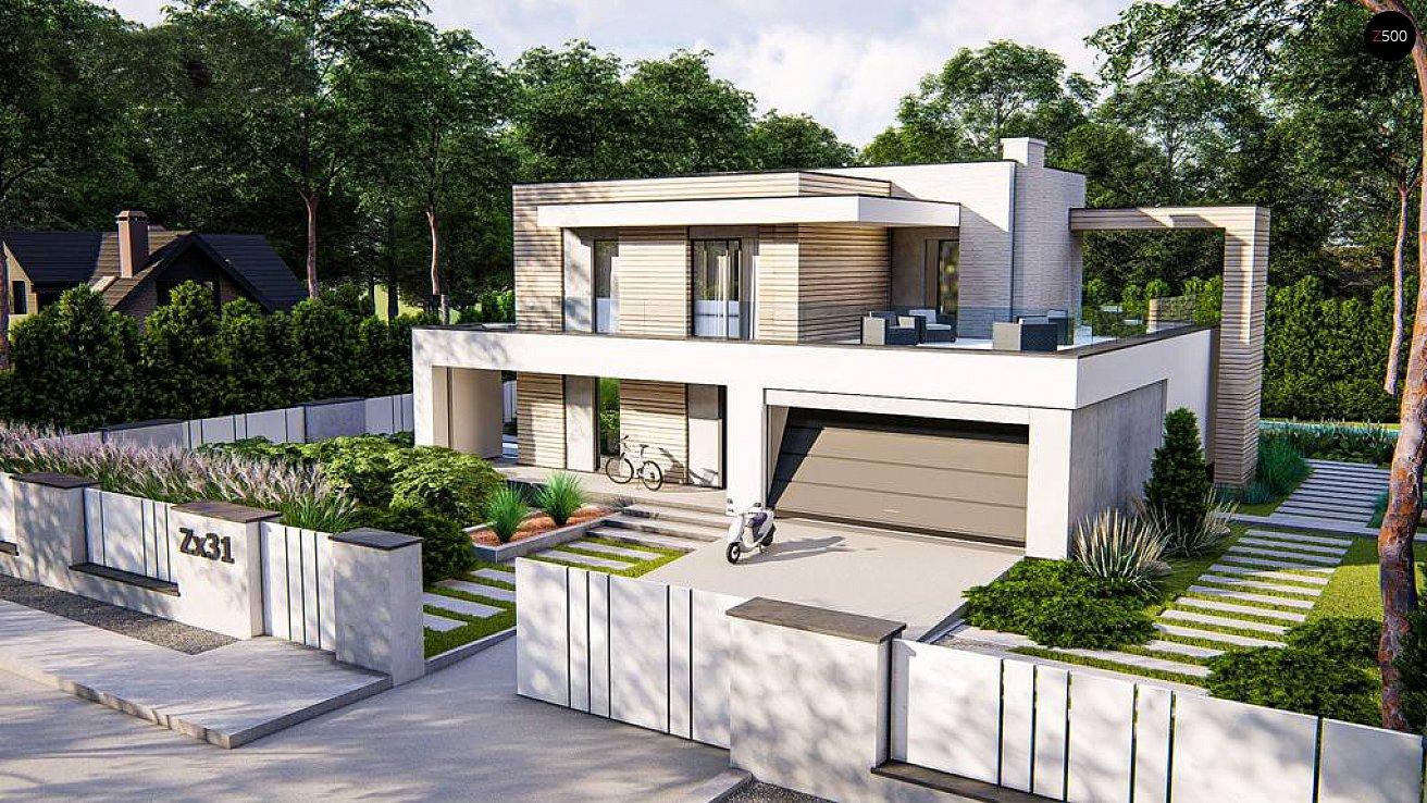 Проект будинку Zx31 - 1