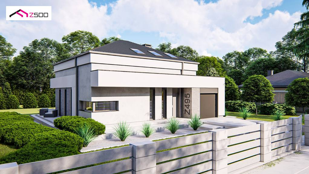 Проект будинку Z495 - 1