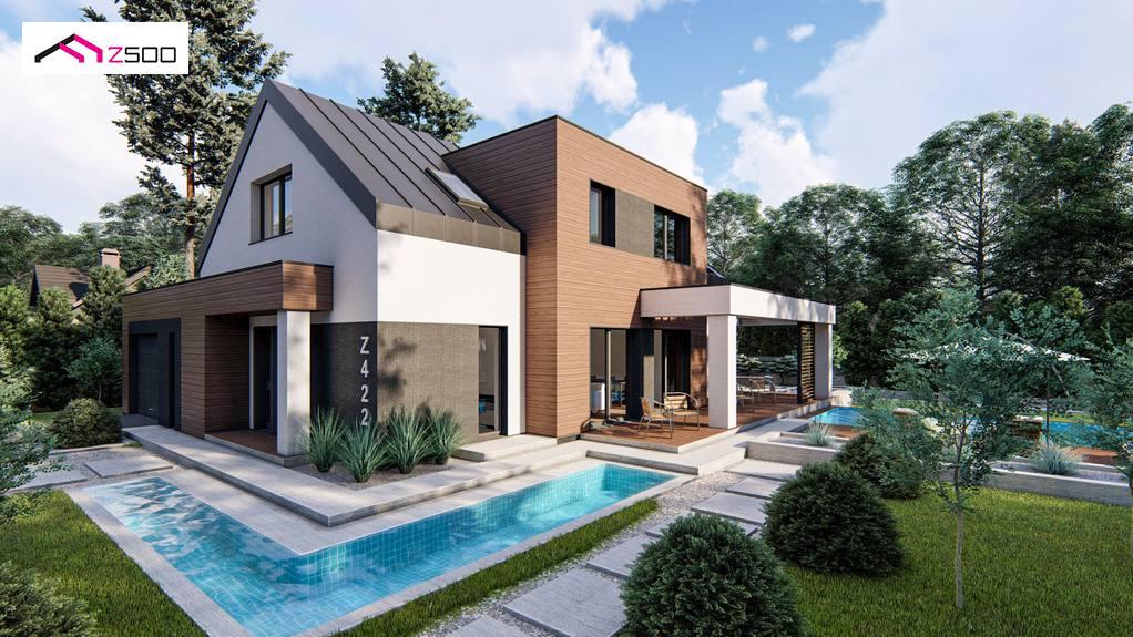 Проект будинку Z422 - 1