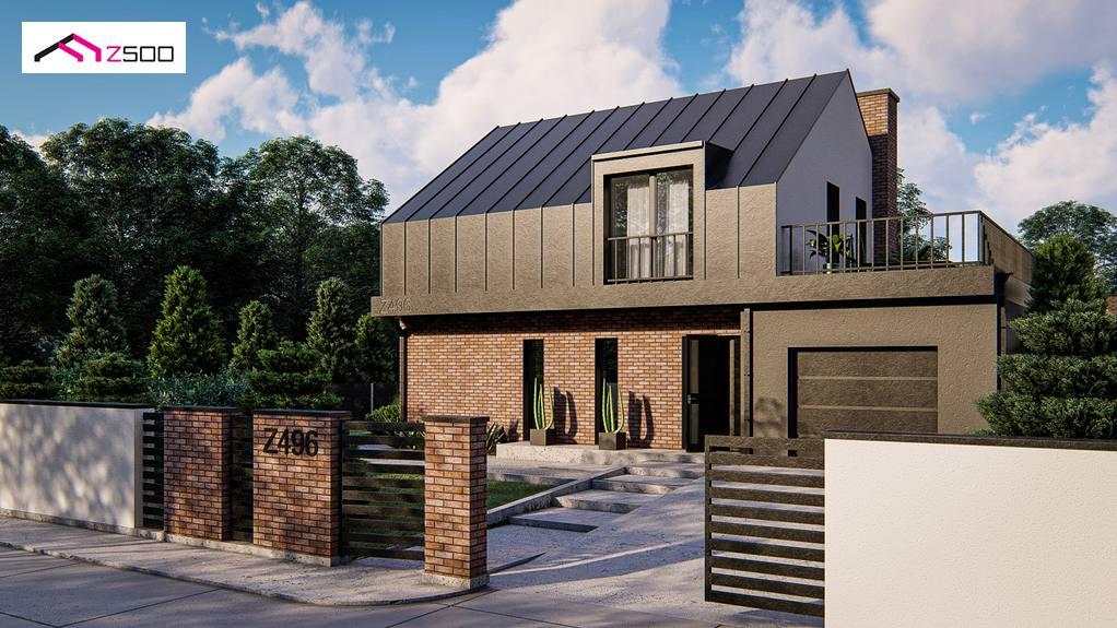 Проект будинку Z496 - 1