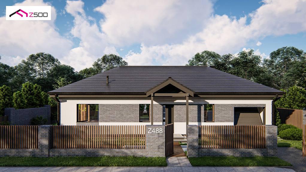Проект будинку Z488 - 1
