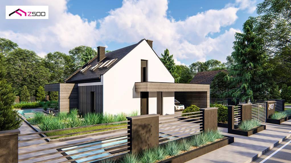 Проект будинку Z467 - 1