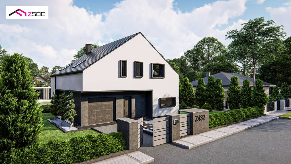 Проект будинку Z432 - 1