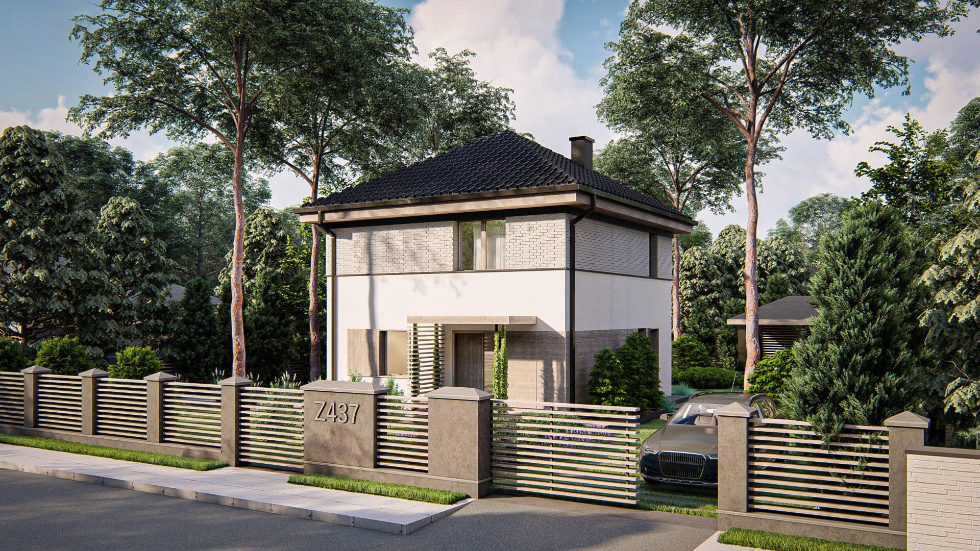 Проект будинку Z437 - 1