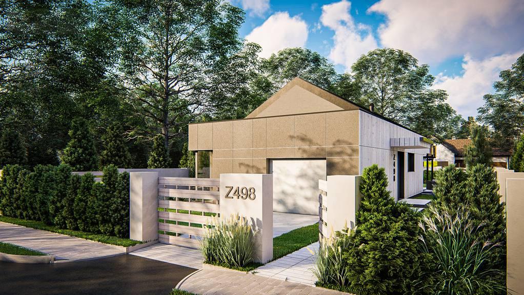 Проект будинку Z498 - 1