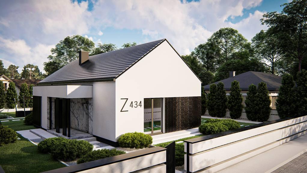 Проект будинку Z434 - 1