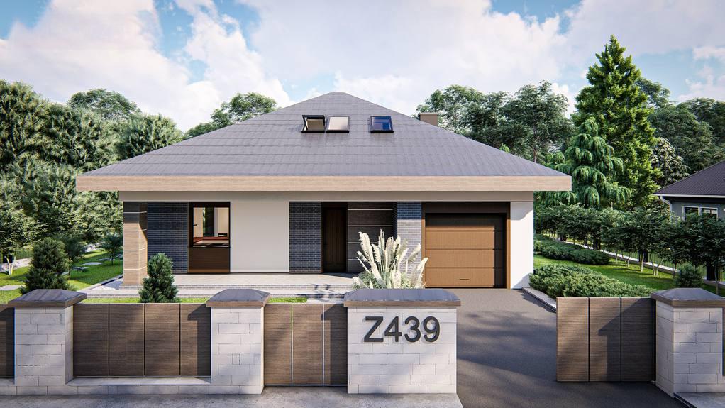 Проект будинку Z439 - 1