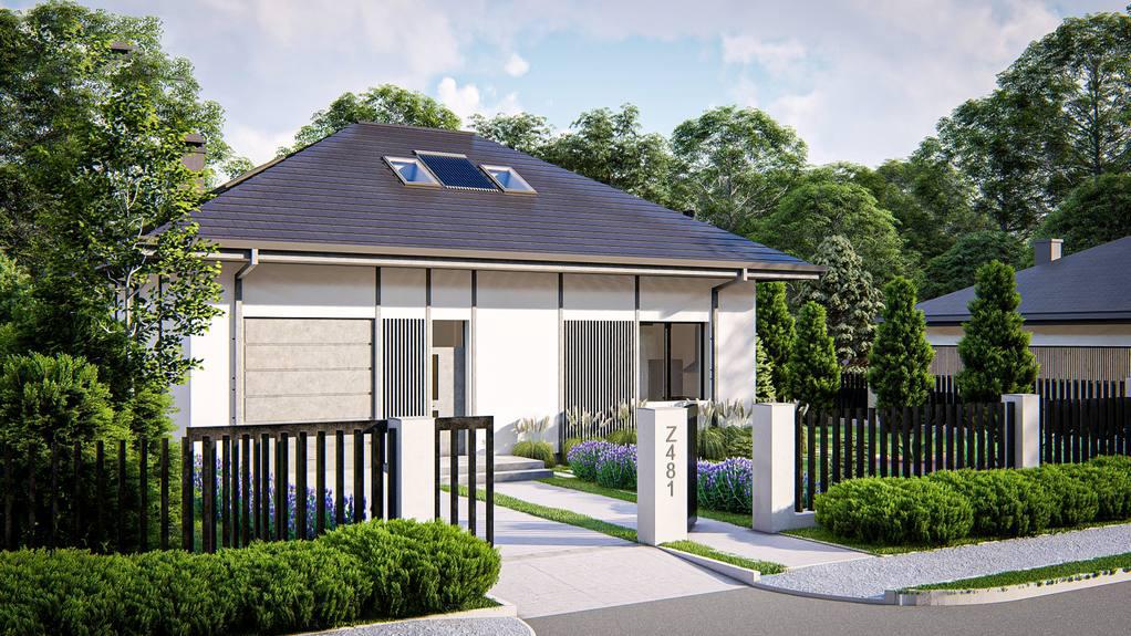 Проект будинку Z481 - 1